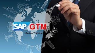 SAP GTM Training Video   Global Trade Management Online Demo - GOT