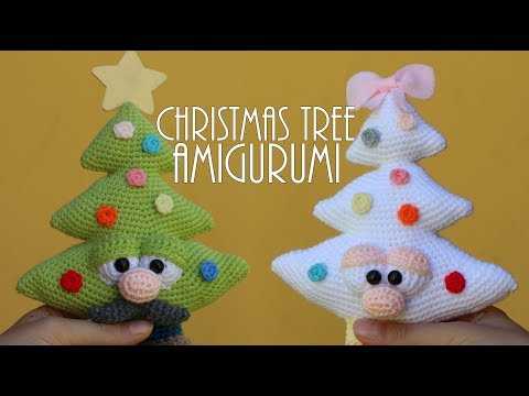 CHRISTMAS TREES AMIGURUMI | World Of Amigurumi