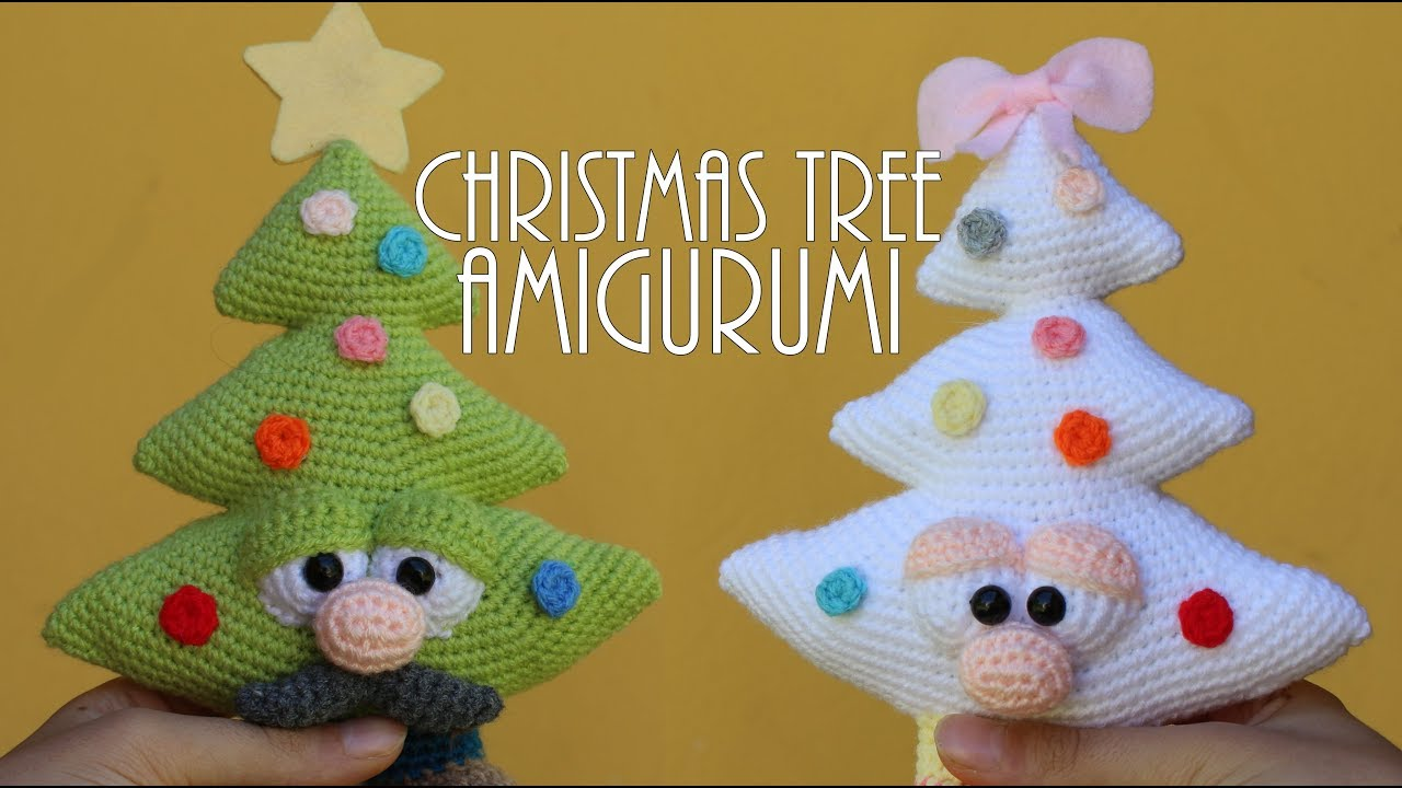 Easy Christmas Amigurumi : Christmas trees amigurumi world of amigurumi youtube