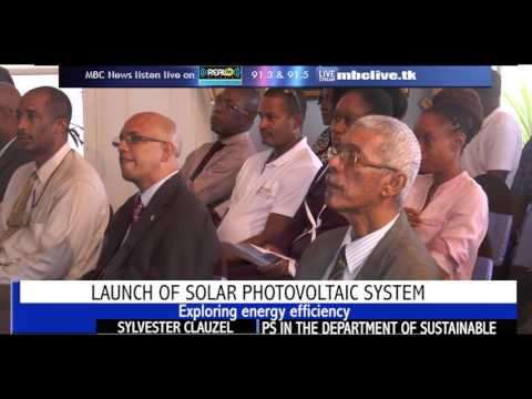 LAUNCH OF SOLAR PHOTOVOLOTAIC SYSTEM
