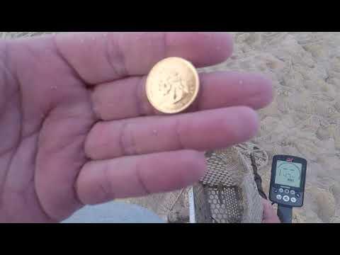 Beach Metal Detecting California 1 Ring