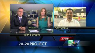 20/70 Project in Marysville running smoothly according to Mayor