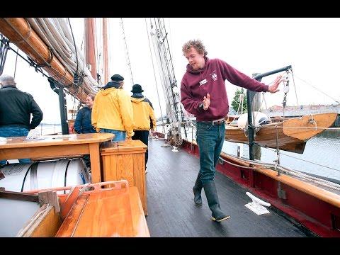 Historic Tall Ship Adventuress Visits Olympia