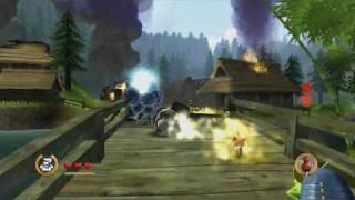Mini Ninjas (Wii) Futo's Skills Trailer