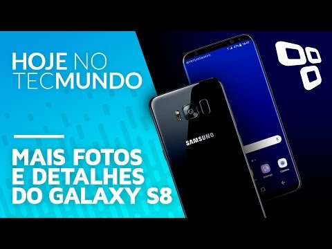 Galaxy S8 e S8 Plus surgem em novos vazamentos - Hoje no TecMundo