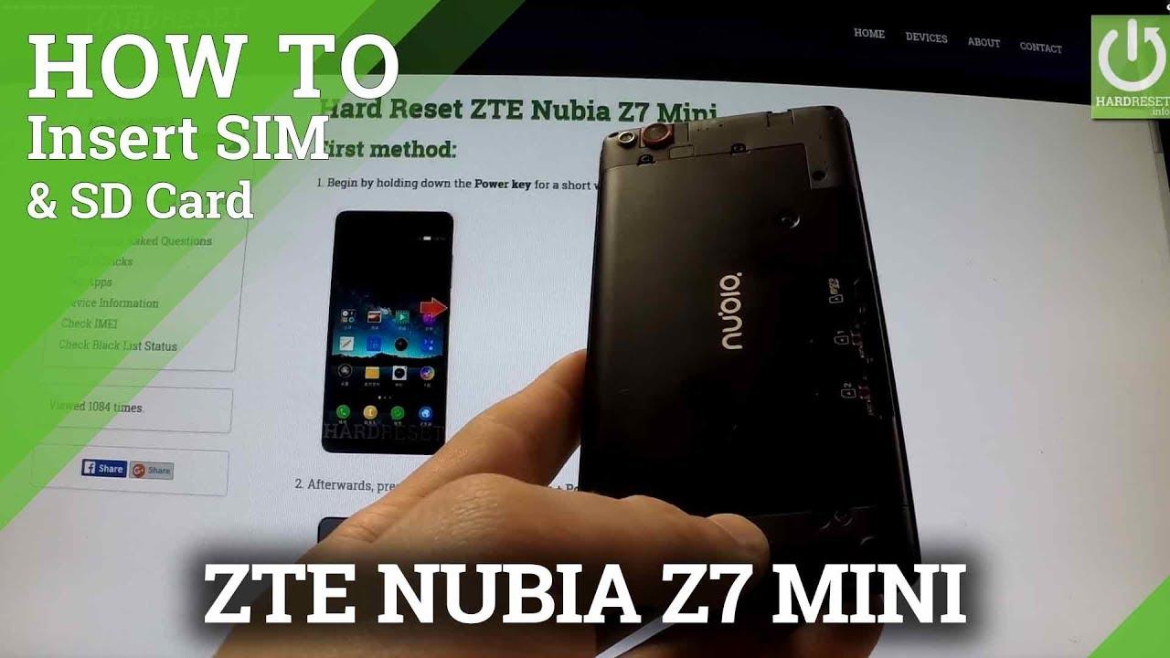 Zte Nubia Z17 Card Slot Videos - Waoweo