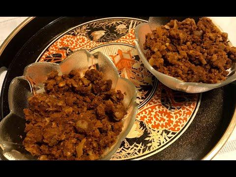 Ethiopian, barley flour breakfast meal recipe (Beso )