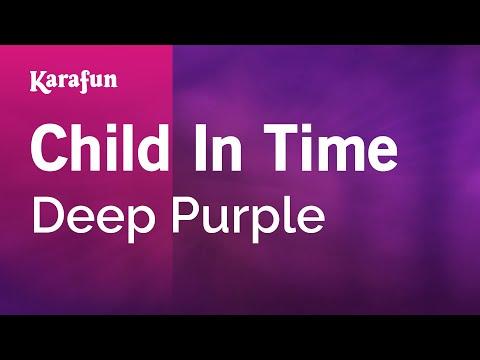Karaoke Child In Time  Deep Purple *