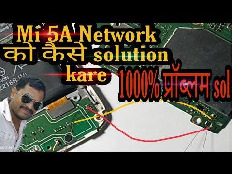 Mi 5A Network Solution , no service solution