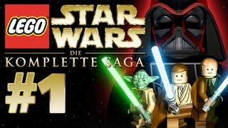 LEGO Star Wars: Die komplette Saga Gameplay #1 - Let's Play Lego Star Wars Deutsch