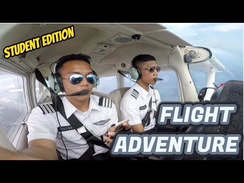 Student Pilot Flight - Sekolah Pilot Indonesia atc audio cessna 172 SP