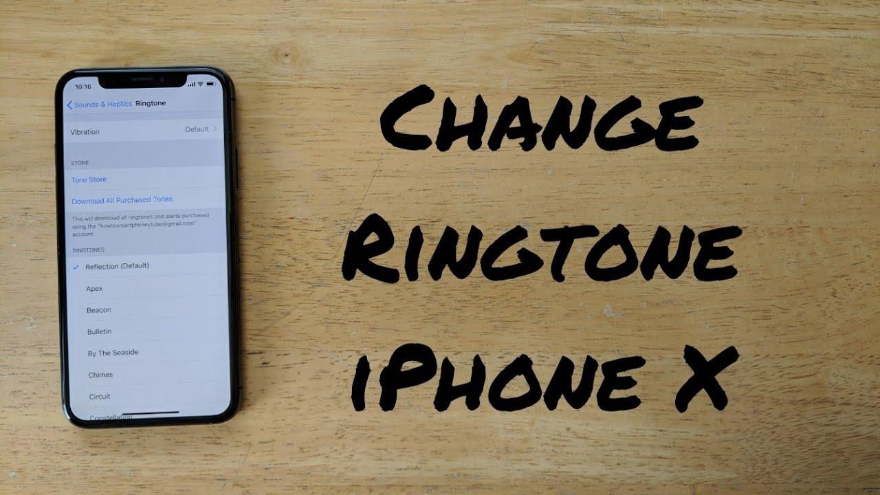 custom ringtone for iphone 10