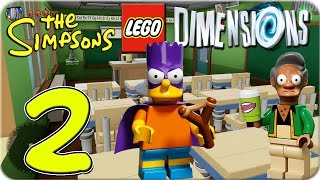 Lego Dimensions The Simpsons World Part 2 ★ Bart Simpson | Let´s Play Lego Dimensions DEUTSCH