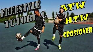 ТОП 3 базовых финтов фристайла | Обучение футбольному фристайлу | ATW - Football Freestyle Tutorial