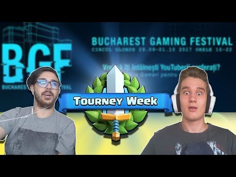 Prima faza din Clash Royale la Bucharest Gaming Festival !!!