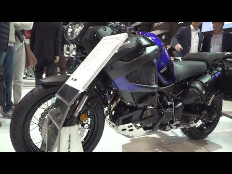 New Yamaha XT1200ZE Super Ténéré Raid Edition - Closer look | EICMA 2017