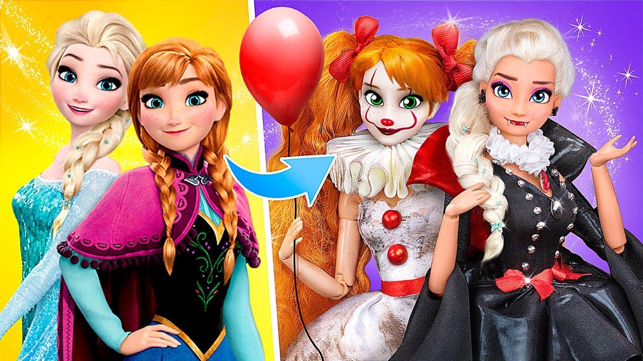 Download Elsa's and Anna's Halloween Party / 11 Frozen DIYs