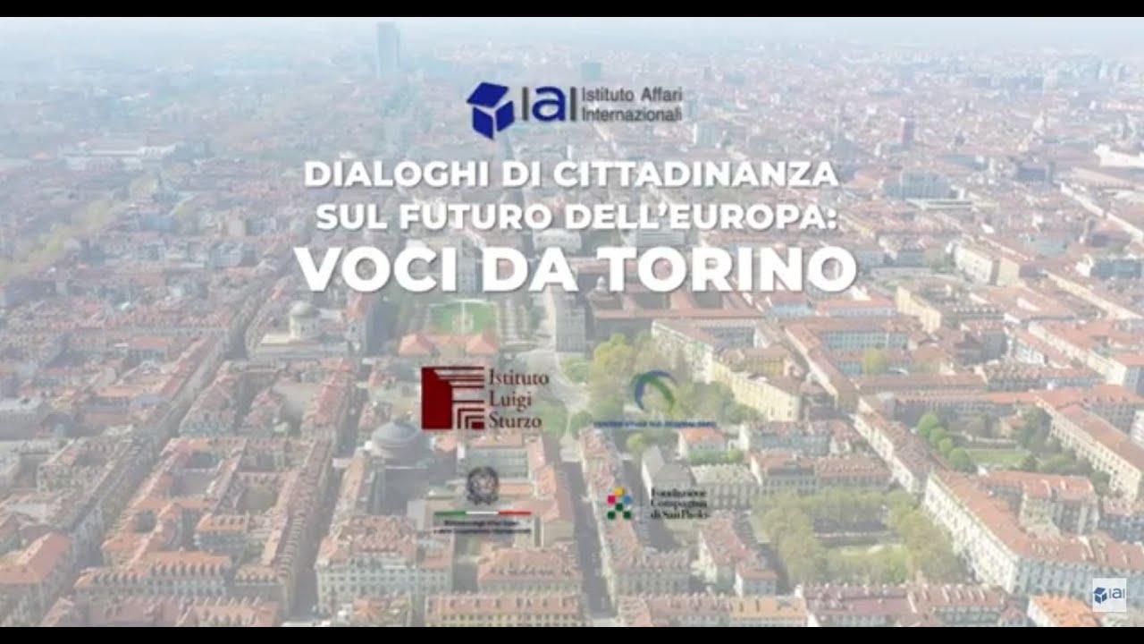 Dialoghi di Cittadinanza: Voci da Torino