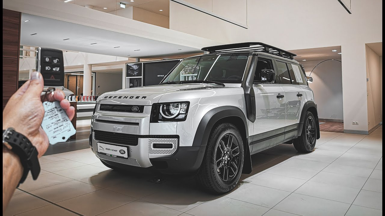 2021 Land Rover DEFENDER (241 HP) - YouTube
