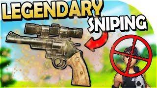 LEGENDARY REVOLVER SHOTS + LEGENDARY SNIPER SNIPING - Fortnite Battle Royale Gameplay Update 1.8