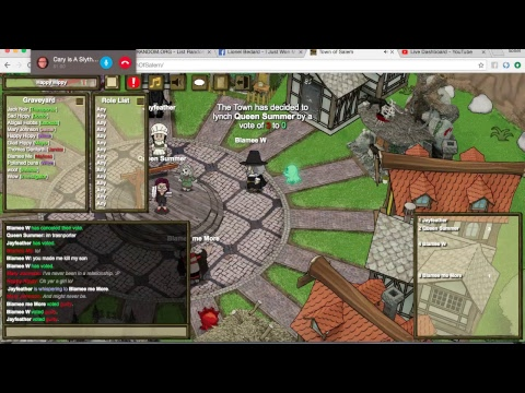 Town Of Salem All Any Gameplay Witch Owned By Woof Veteran lol