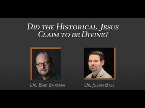 "Justin Bass vs Bart Ehrman | ""Did the Historical Jesus Claim to Be Divine?"""