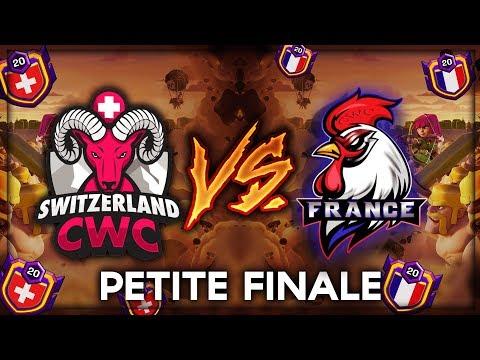 🔴 Clash Of Clans   Petite Finale ECC - FRANCE Vs SUISSE