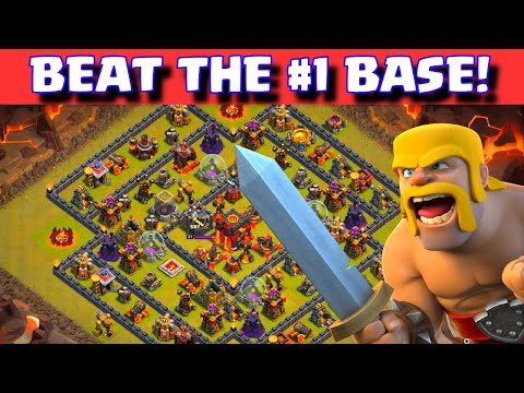 Clash of Clans BEST BASE LAYOUT BEATEN! | How To Win VS. Popular Nemesis Base