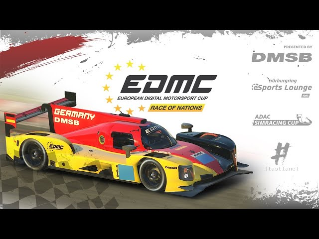 European Digital Motorsport Cup | Race of Nations - Deutscher Stream