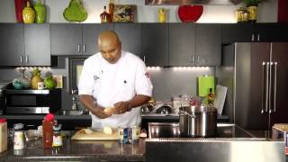 Black & White Chicken Chili (tyson Feature Recipe)- Cooking Today With Chef Brooks