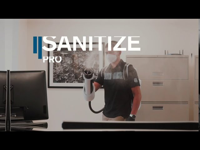 Sanitize Pro | Electrostatic Cleaning Solutions by PPE USA PRO | GALAXY™
