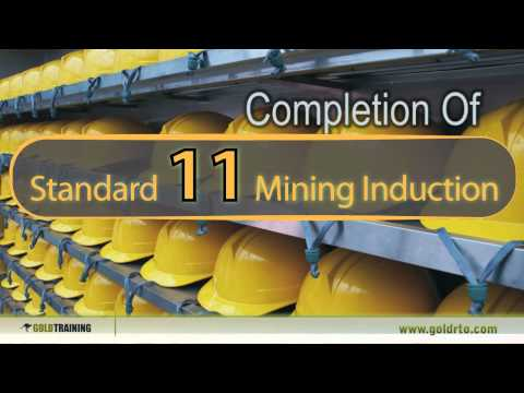 Standard 11 General Mining Induction Course, Surface