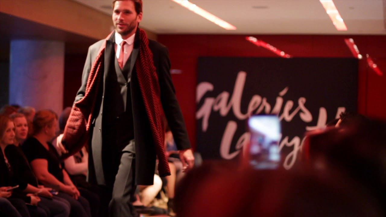Fashion Show aux Galeries Lafayette Haussmann - YouTube