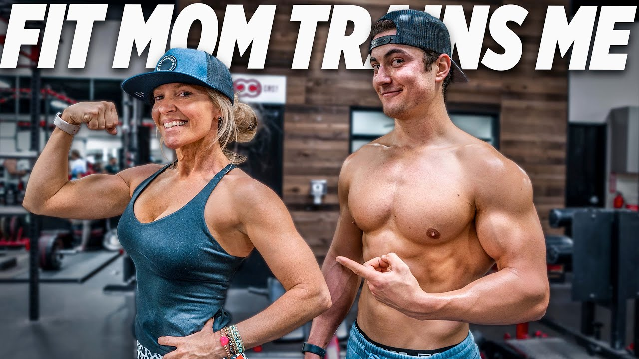 I ASKED A FIT MOM TO TRAIN ME