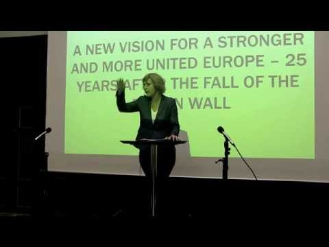 A New Vision for a Stronger and More United Europe - Keynote by Connie Hedegaard @TEF14