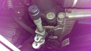 Klimakondensator abbauen,Opel Zafira B 1.9 CDTI Automatikgetriebe