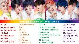 BTS лучшая песня плейлист 2013-2020
