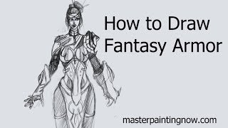 How to Draw Fantasy Armor