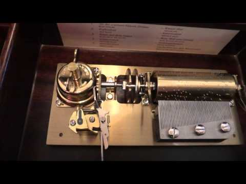 Reuge 10 song, 50 note music box