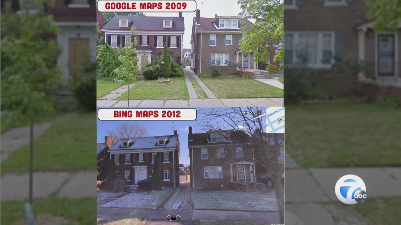 Street view maps show Detroit\'s past - YouTube