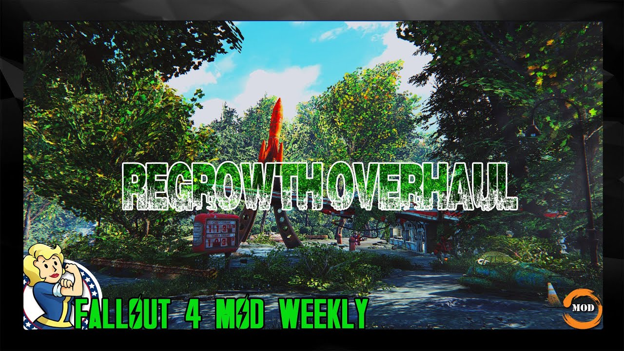FALLOUT 4 MIGLIORIE - IMPROVEMENT MOD: ReGrowth Overhaul