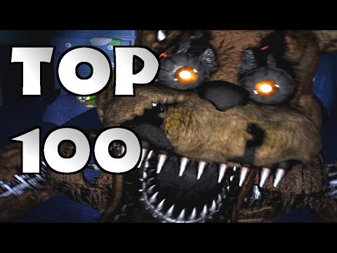 TOP 100 FNAF FAN GAMES (Random Order)