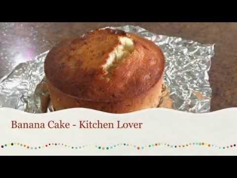Cách làm Banana Cake (bánh chuối) đơn giản