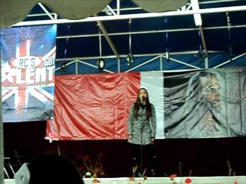 Arlette Ortega singing Listen