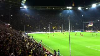 Borussia Dortmund - FC Bayern München / Stimmung und Torjubel 1:0 für BVB