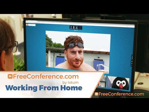 FREECONFERENCE.COM: Working From Home