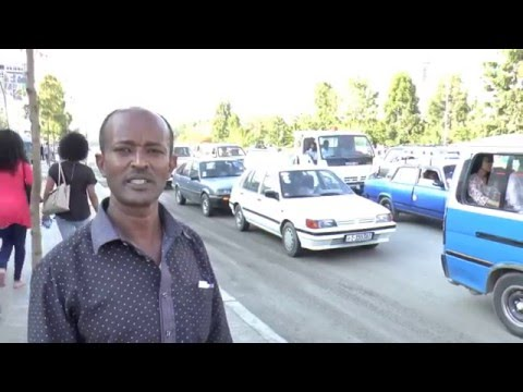 Ethiopian Tour Guide  -   Tewodros :Teddy  on the streets of Addis Ababa