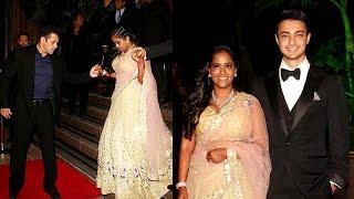 Salman Khan's Sister Arpita Khan and Ayush Sharma Wedding Reception | Uncut Full Event