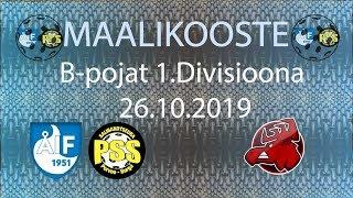 Maalikooste ÅIF/PSS - Happee (B-pojat 1. Divisioona 26.10.2019)