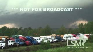 Repeat youtube video 4/27/14 Mayflower, AR; Wedge Tornado *John Sibley HD*